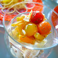 だし×オイル+オレンジ+ローズマリー セロリと作り置き とまとのお浸し - ささみinで前菜に - by 青山 金魚さん