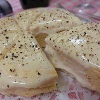 砂糖小麦粉不使用☆ おからパウダーでチーズクリームの塩ケーキ