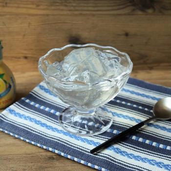 作業7分だけ!缶詰すらいらない本当に簡単なレモンゼリーの作り方。