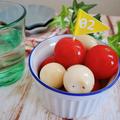 ~漬けるだけ~【ミニトマトとうずらの卵のハニーレモン漬け】#簡単レシピ #副菜 #漬けるだけ