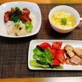自分メモとスナネコ「アミーラ」☆韓国風鮪漬けと貝柱の海鮮丼♪☆♪☆♪ by みなづきさん