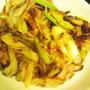 【レシピ】カリカリ鶏皮とネギの簡単炒め~鶏皮も捨てないよ~