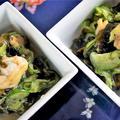 ■作り置きの酢味噌で簡単!!5分【酢味噌和え2種】 ♪ by あきさん