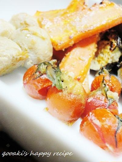 ■野菜の麹焼き