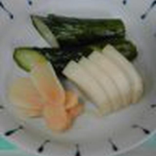 糠漬けで美味しい野菜って、なに?