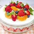 焼かない簡単♪すぐ出来るスイーツ【ロールケーキで作るスコップケーキ】 by HiroMaruさん