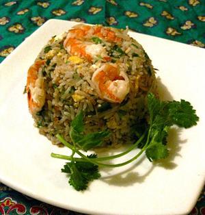 タイ風焼き飯。