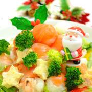 クリスマスツリー 手まり寿司 ☆