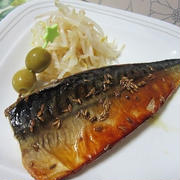 クミン香る鯖のオリーブソテー