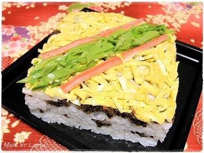 我が家の簡単ちらし寿司? <京都丹後地方のばら寿司 >