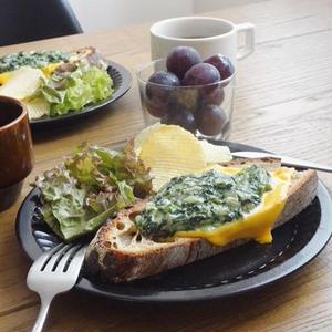 冬の食卓にピッタリ!クリスマスカラーな「#クリームドスピナッチ」