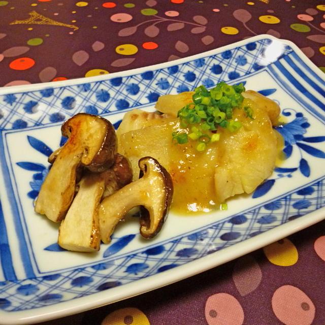 鱈の甘味噌焼き