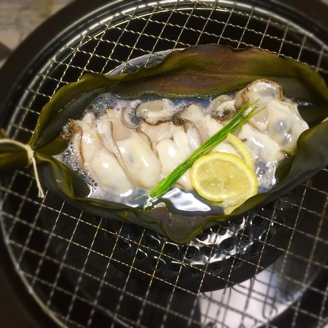 牡蠣の昆布釡焼き♪今日は牡蠣の日!