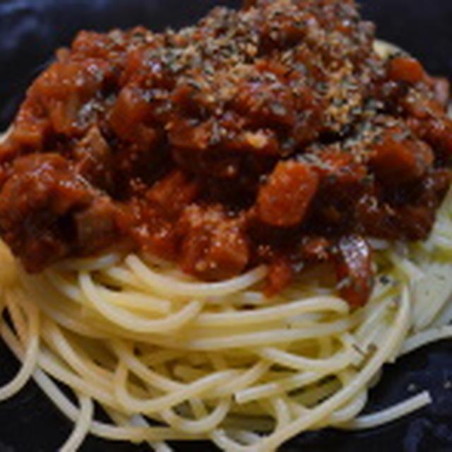 食物繊維たっぷり☆食べごたえあり♫根菜トマトソースパスタ♪