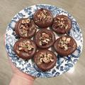ヴィーガン🌱小麦粉不使用!しっとり系濃厚チョコレートカップケーキ Vegan🌱Flourless Rich Chocolate Cupcakes by piggyinkitchenさん