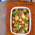 お鍋に入れて7分で完成!ご飯がすすむ『豚ひき肉とたけのこの甘辛そぼろ』