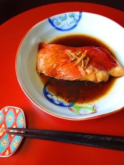 「金目鯛の煮つけ」がクックパッド「金目鯛の煮つけ」で人気検索3位♪