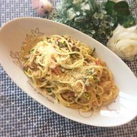 ベジトレメニュー★野菜4倍楽エコパスタ
