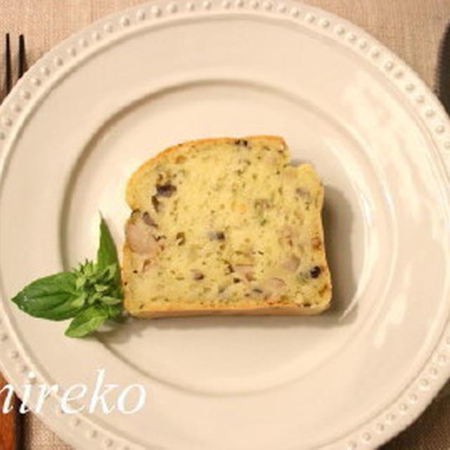 ケーク・サレ (塩味のケーキ) マクロビオティックレシピ