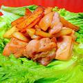 家庭でつくる韓国料理「 鶏肉とジャガイモのコチュ醤炒め(タッカルビ風)」