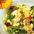 春の薬膳料理♪「菜の花と魚介類のマリネ」