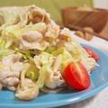 【しっとり柔らか〜♡かたくならない!豚ロースとシメジ、レタスの作り置きサラダ♡】 by おにゃさん