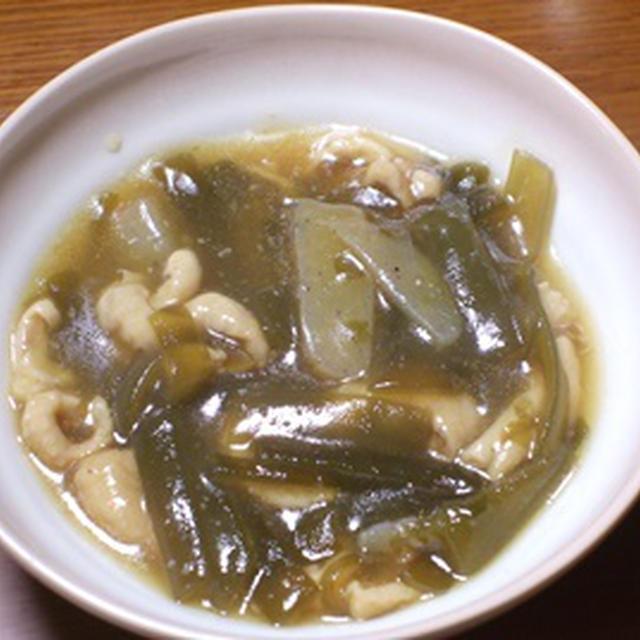 茎わかめの中華風煮物
