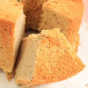 極ふわ!! たっぷりミルクの紅茶のシフォンケーキ(シフォン生地のお菓子)