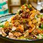 【レシピ】豚肉きのこ炒めのさっぱり柚子胡椒おろしポン酢