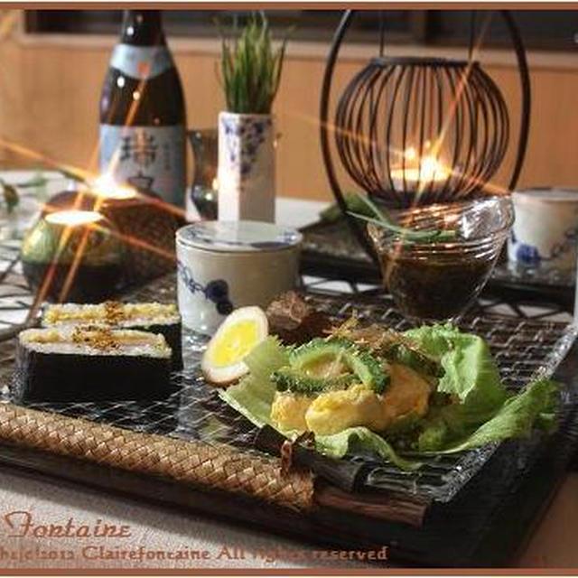 塩麹チャンプルと沖縄料理