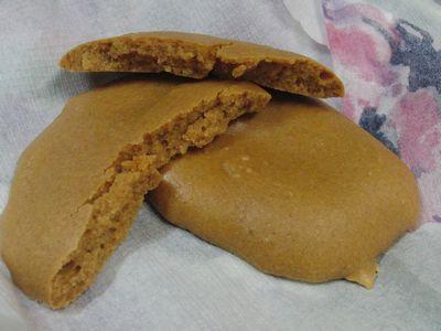 砂糖、小麦粉不使用でほんのり甘いおやつ♪ きなことスキムミルクと玉子の材料3つでプチパン風