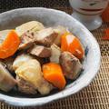 圧力鍋を毎朝使う夫が作る「里いもと鶏肉の煮物」