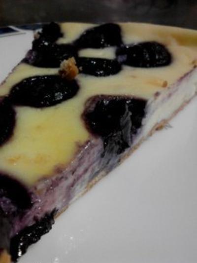 『チーズケーキ』レシピ 『ブルーベリーチーズケーキ』レシピ