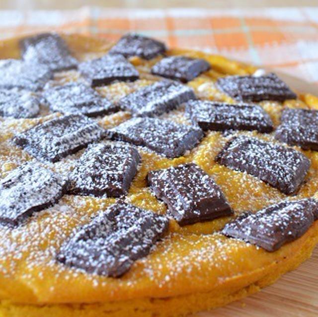 簡単お菓子!「チョコレートかぼちゃケーキ」