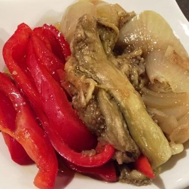 ビストロメニュー 焼き野菜のエスカリバーダ
