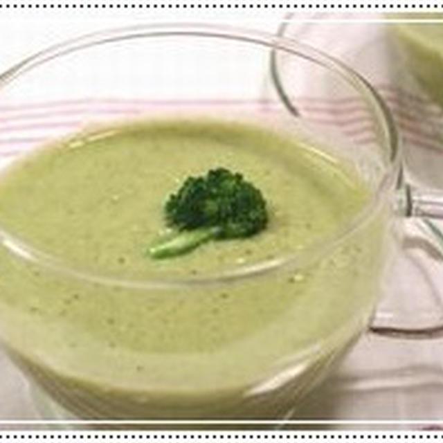 ブロッコリーの豆乳スープの簡単料理レシピ&ダイエットワンポイントアドヴァイス