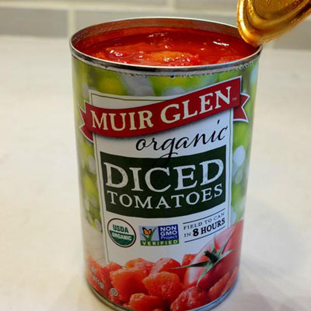 トマト缶からパスタソース