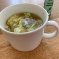 セロリ塩香る春キャベツスープ