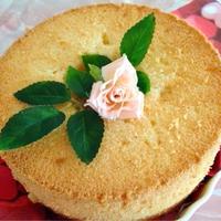 アニス香るシフォンケーキ