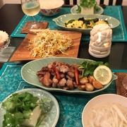 久しぶりのおうちアジアン料理