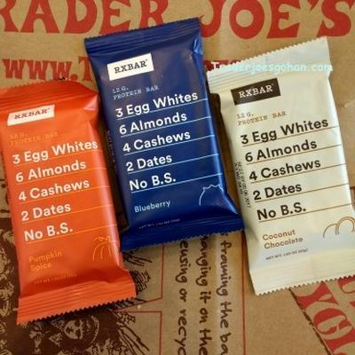 RXBAR エッグホワイト プロテイン エナジーバー at Trader Joe's