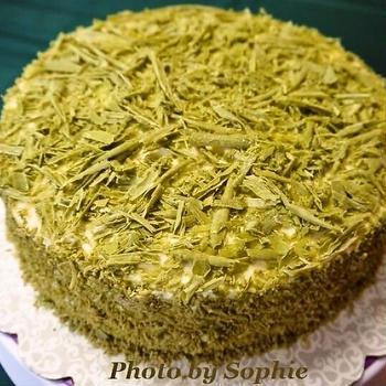 スイス・ヘーゼルナッツケーキ・パトリックデー版のレシピ