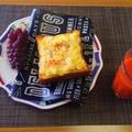 おいしい果物に今年はあたっています☆たまごマヨチーズトースト♪☆♪☆♪