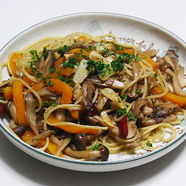 茸のスパゲッティ