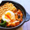 ピリ辛こく旨!韓国風チゲ鍋の作り方レシピ 一人鍋[料理動画]