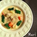 隠し味はアレ☝︎コク旨✨鶏のクリームシチュー by Mariさん