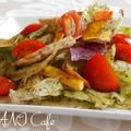 野菜チップスのサラダ