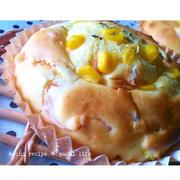 ホットケーキミックスdeコーンパン♪パート2