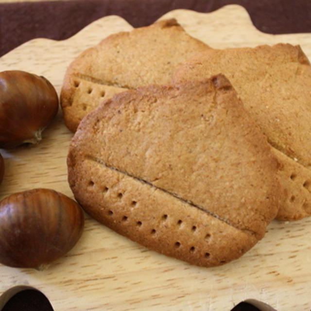 やめられない、とまらないマロンペーストを使った栗クッキー