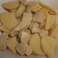 【レシピブログ】ヤマキ割烹白だし1本で簡単おかず!白だしさっと煮レシピ<筍と鶏肉の白だしさっと煮>♬